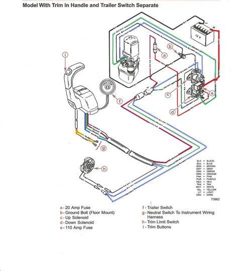 Mercruiser Tilt Trim Wiring Diagram by Mercruiser Power Tilt Does Not Go