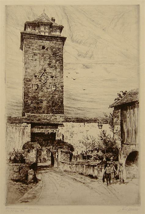 rothenburg watchtower  paul geissler annex galleries