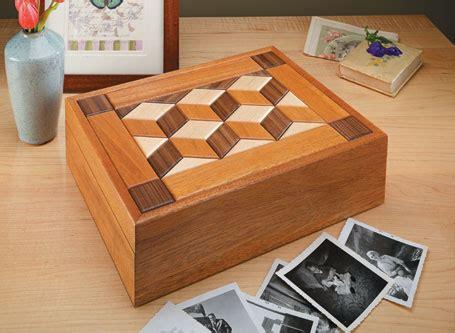 quilt top keepsake box woodsmith plans