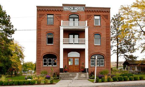 sold historic balch hotel dufur oregon crystal