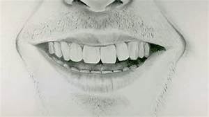 How to Draw a Smiling Mouth - YouTube