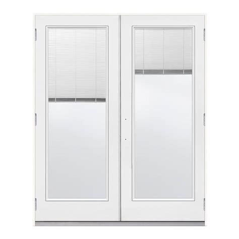 jeld wen 72 in x 80 in white steel prehung left
