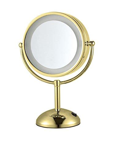 Gold Lighted Makeup Mirror