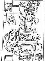 Garage Kleurplaten Kleurplaat Verjaardag Broer Reparatie Rijbewijs Tekening Autos Clip Ausmalbilder Coloring Jungs Gs Verkeer Takelwagen Oma Afkomstig Thema Papa sketch template