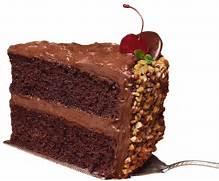Slice of Chocolate Cak...