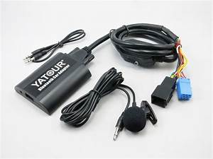 Car Stereo Adapter Digital Cd Changer Mp3 Aux Bluetooth