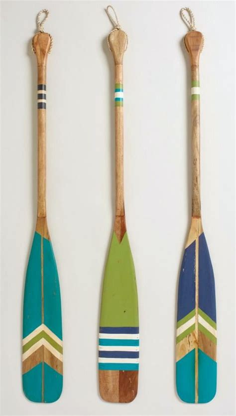 decorative oars and paddles canada 25 best painted oars ideas on oar decor