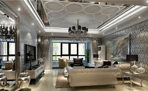 Image of: Living Room Interior Design Post Modern Style Ceiling Designs For Living Room European Style