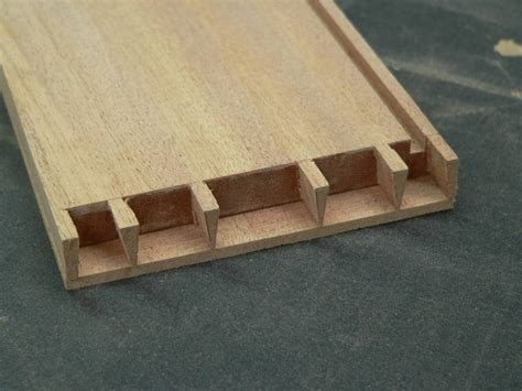 blind dovetail pins   groove  blind