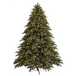 ge 7 5 ft just cut noble fir ez light artificial tree with 800 color choice led lights