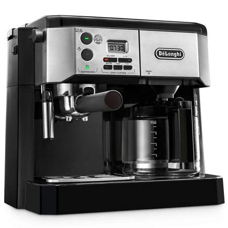 And that is where a coffee espresso combination comes in. De'Longhi Combination Espresso and Coffee Machine with Advanced Cappuccino System - Walmart.com