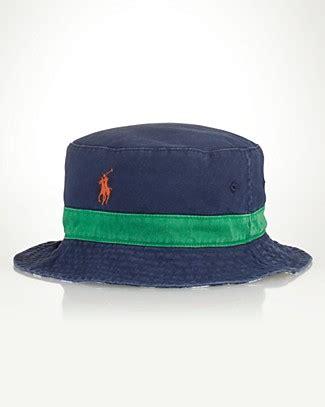 polo ralph lauren reversible beachside bucket hat