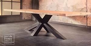 Meuble Design Industriel : table design industriel meubles industriels sur mesure nantes pinterest meubles ~ Teatrodelosmanantiales.com Idées de Décoration