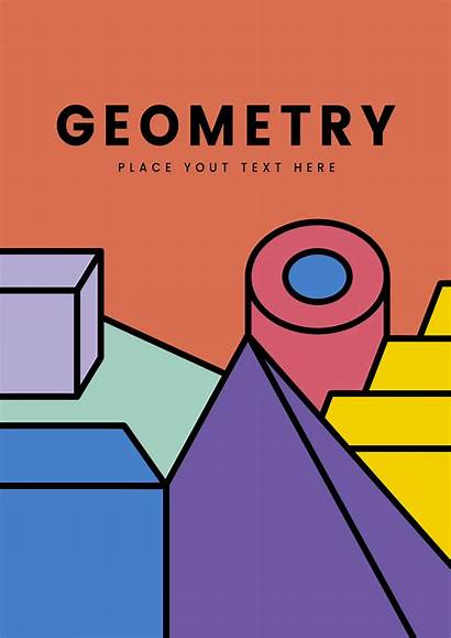Graphic Geometry Vector Colorful Mockup Graphics Resources