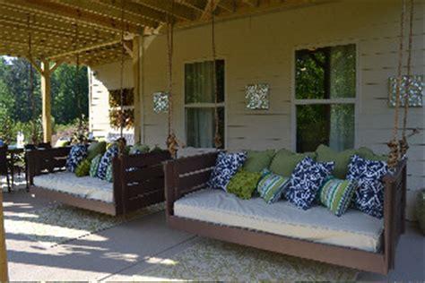 joshua bed swing  vintage porch swings charleston sc traditional porch charleston
