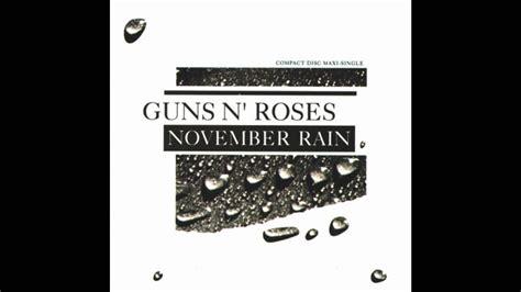 November Rain (8-bit Remix)