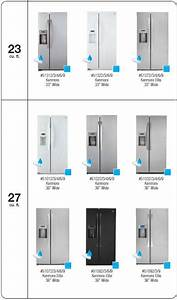 Appliance Information  2010 Kenmore Trio And Sxs