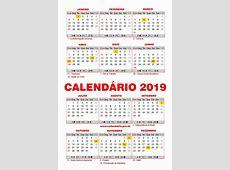 Feriados 2019 Calendário