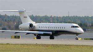 Bombardier BD 700 1A10 Global Express Takeoff at EFHK