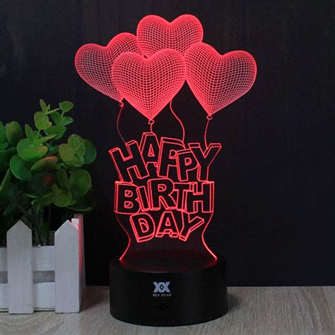 3d Happy Birthday Photo by 3d Happy Birthday Led Light Price 29 99 Free
