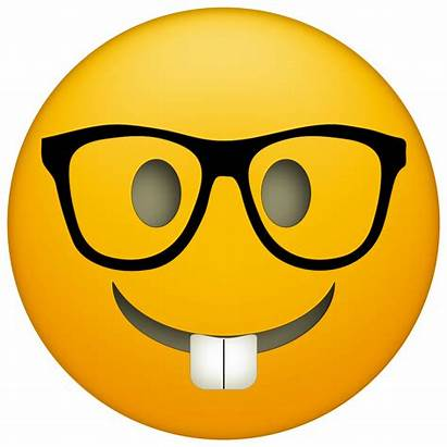 Emoji Clipart Nerd Transparent Glasses Nerdy Webstockreview