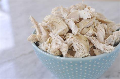 how do you boil chicken for shredding slow cooker shredded chicken your homebased mom