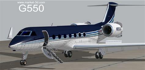 Gulfstream G550   CGTrader