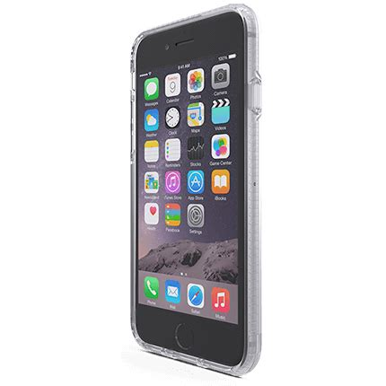 Tech21 Iphone 66s Impact Clear Case  Accessories From O2