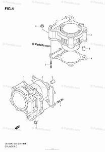 Suzuki Motorcycle 2008 Oem Parts Diagram For Cylinder
