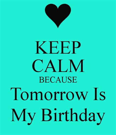 birthday  tomorrow quotes quotesgram