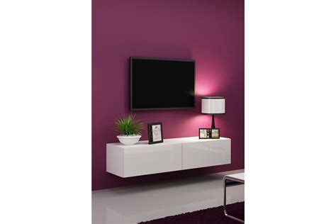 Meuble Tv Design Suspendu Vito 140cm
