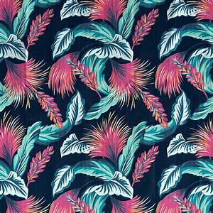 Tropical Print Background Tumblr | www.imgkid.com - The ...