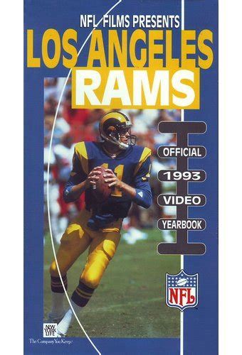 football los angeles rams official  video yearbook
