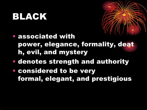 black meaning meaning of color 1