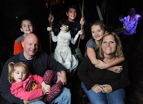 House of horrors builds family togetherness for Columbia ...
