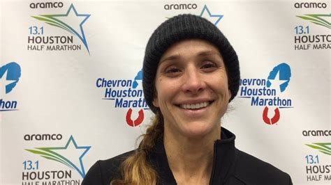 kara goucher explains why dnf d the 2019 houston marathon youtube