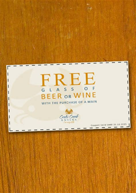 sample restaurant coupon template