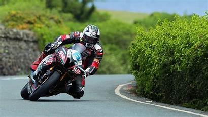 Tt Isle Races Supersport Race Riders Motorcycle