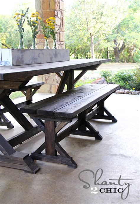 farm style table with bench farm style table with storage bench native home garden