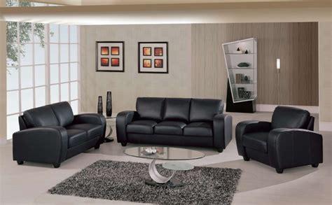 black leather living room furniture choosing black leather sofas for striking living room