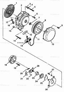 Polaris Atv 1999 Oem Parts Diagram For Recoil Starter