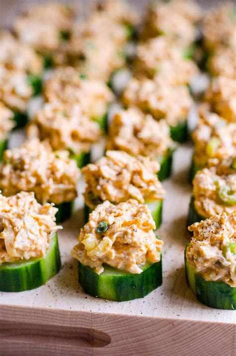 cucumber appetizer bites ifoodreal healthy family recipes