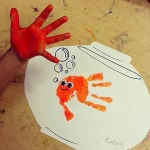 Basteln Mit Grundschulkindern : die besten 25 fisch malen ideen auf pinterest basteln mit kleinkindern leicht aquarell fisch ~ Orissabook.com Haus und Dekorationen