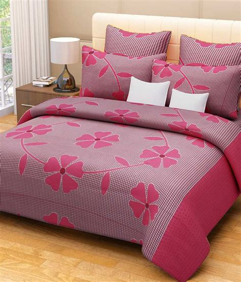 Cotton Bed Sheets by Expressions 100 Cotton Printed Bed Sheets Buy