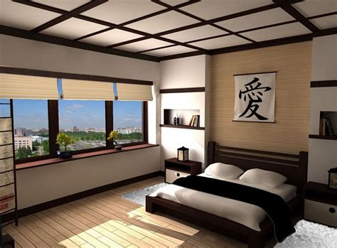 Asian Inspired Bedrooms Design Ideas, Pictures