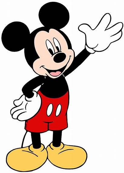 Mickey Mouse Clipart Clip Disney Waving Drawing