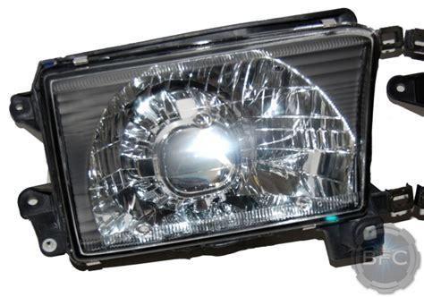 toyota runner black chrome hid projector headlight