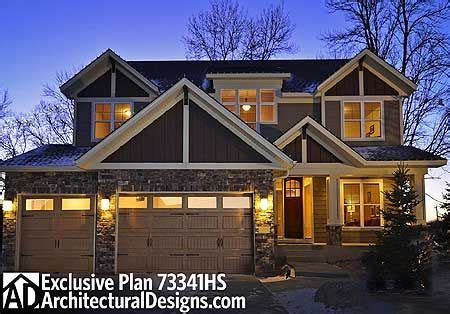 plan 73341hs craftsman bungalow with optional finished