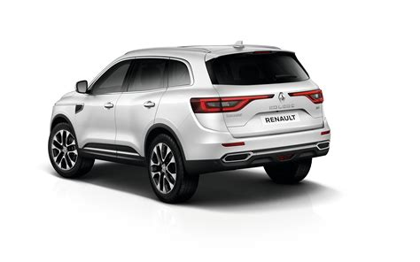 Renault Koleos Backgrounds by Wallpapers Renault Crossover Koleos White Auto Back View