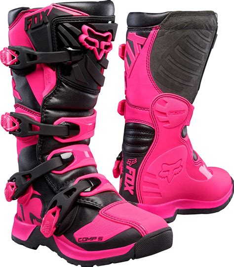 fox boots motocross 2017 fox racing youth comp 5 boots mx atv motocross off